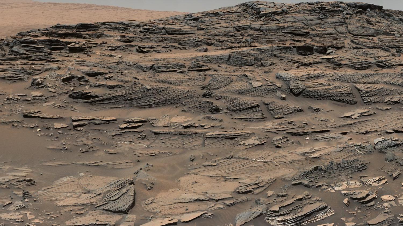 mars surface curiosity panorama - photo #21