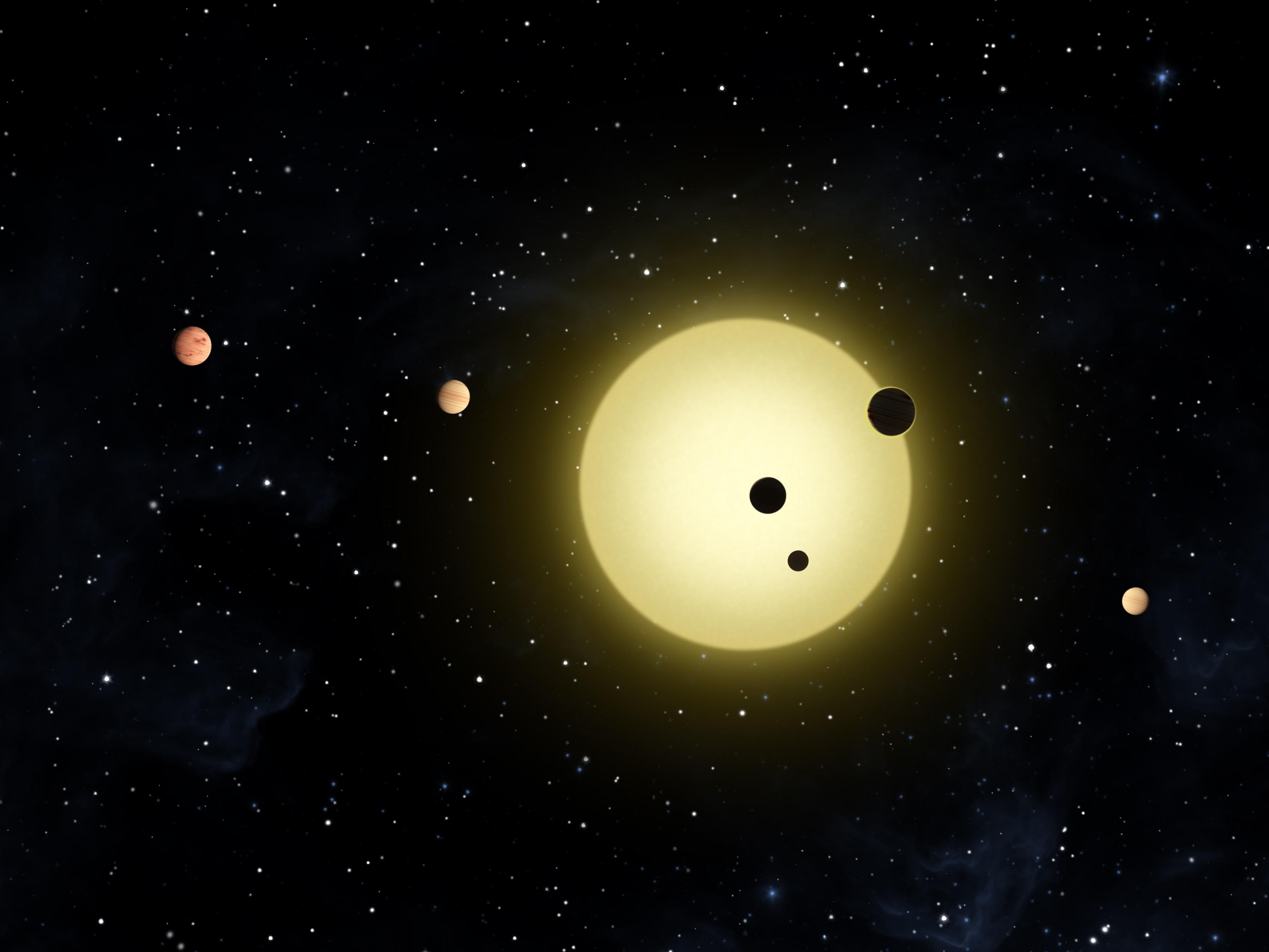 other solar systems with planets like earth - photo #40