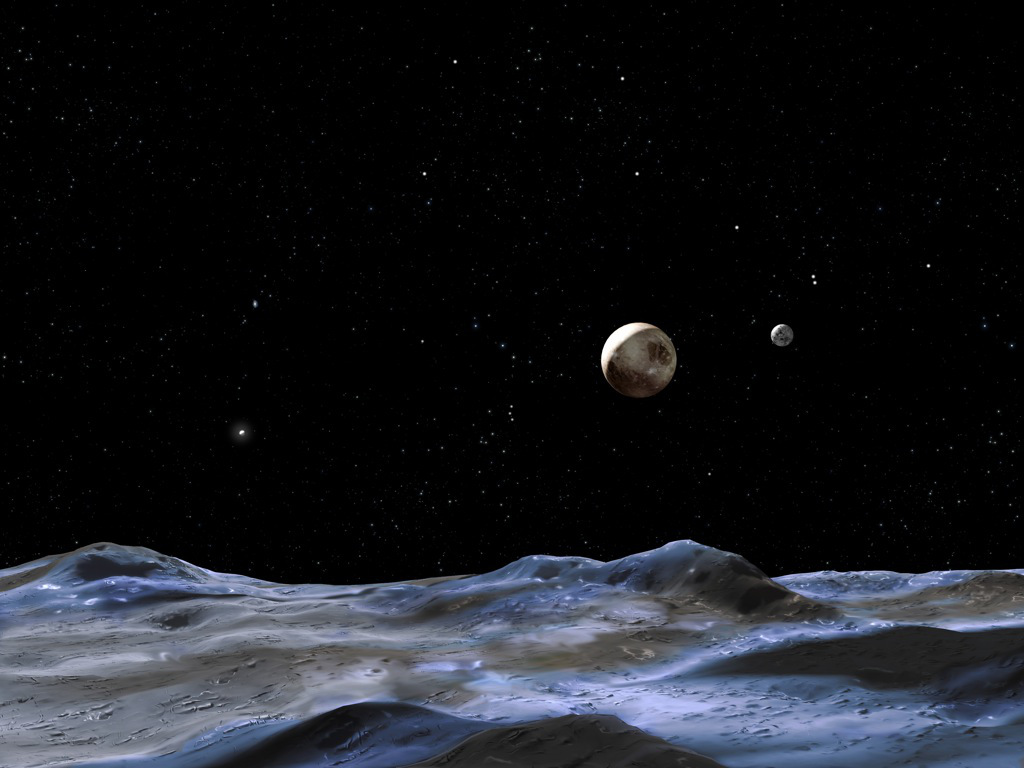 moons around pluto - photo #5