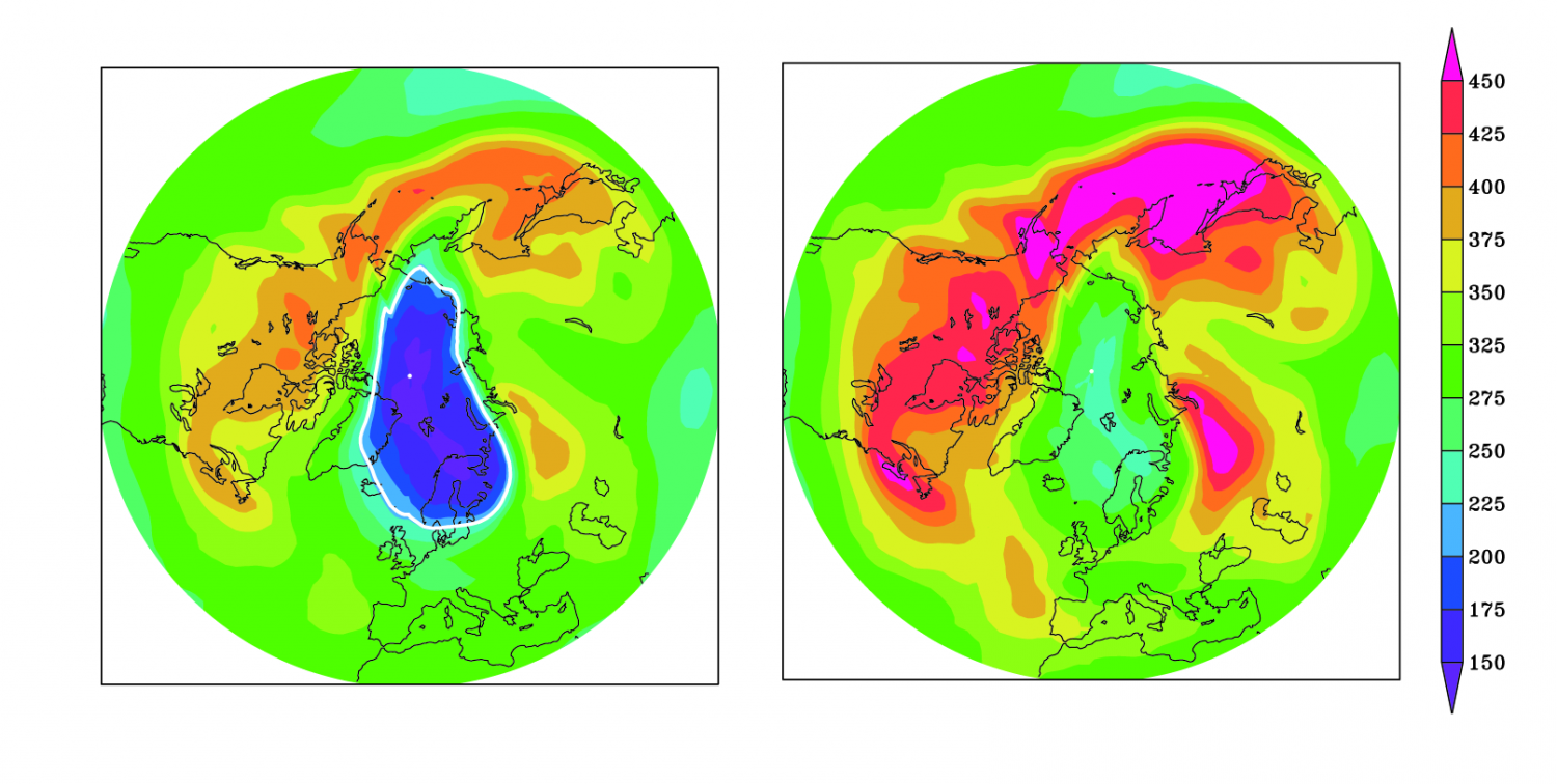 ozone layer and its depletion View the latest status of the ozone layer over the antarctic, with a focus on the ozone hole satellite instruments monitor the.