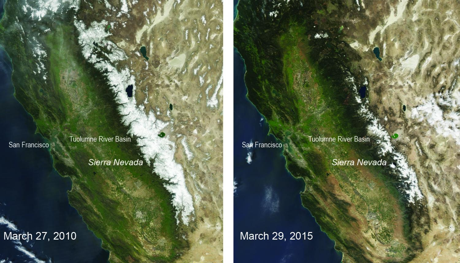 Calif. drought leads to lowest snowpack in 500 years