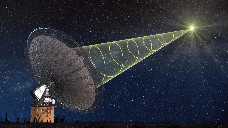 Ученым удалось видеть «живой» радиовсплеск