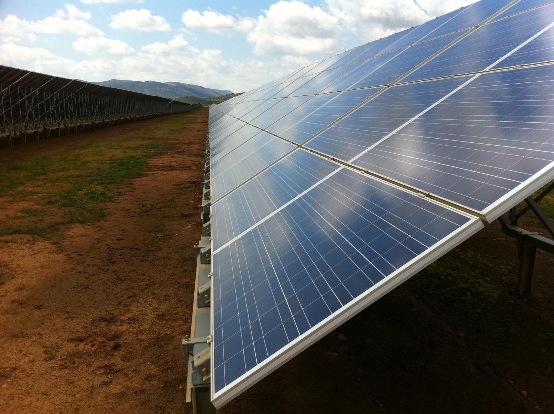 Solar energy's land-use impact