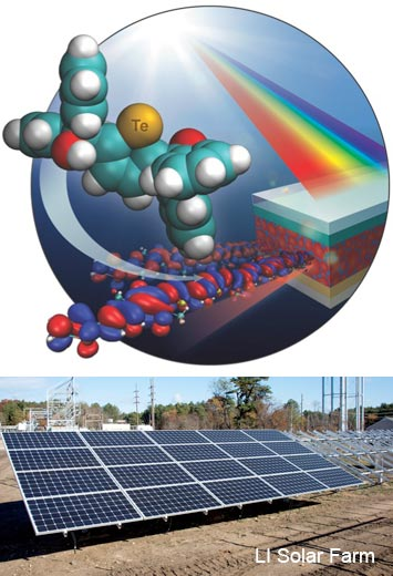 Swapping Tellurium For Sulfur Improves Light Absorption In