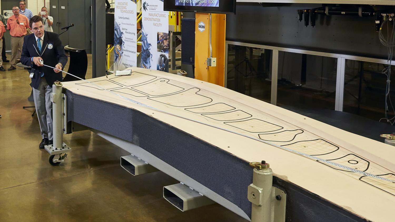 1650lb 3D printed aircraft tool sets Guinness World Record