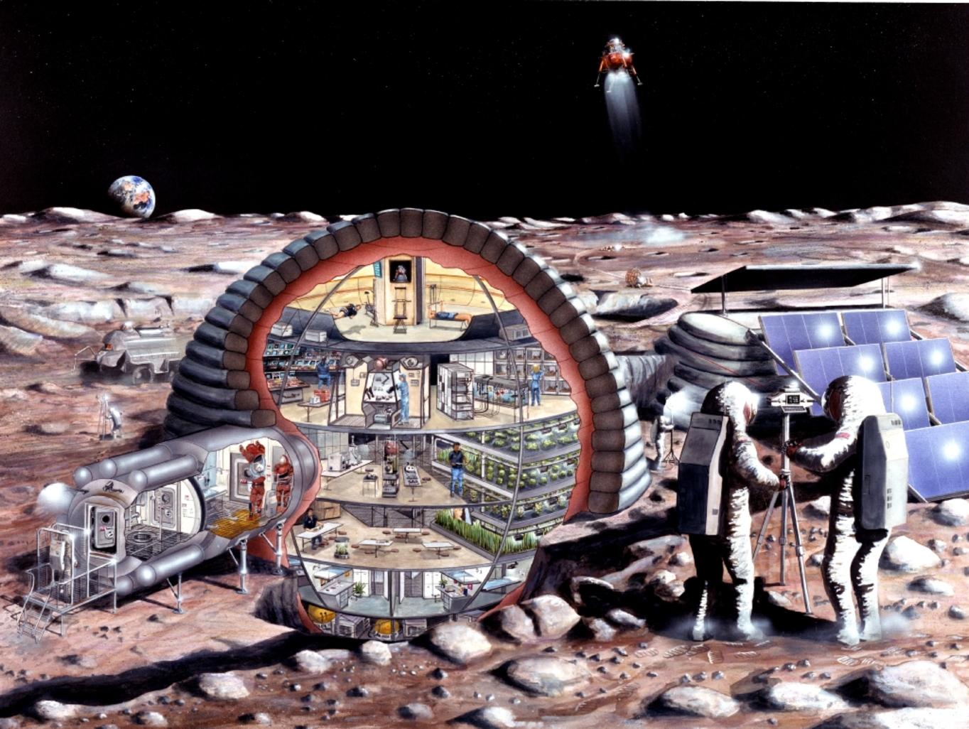 inflatable spacecraft habitat -#main