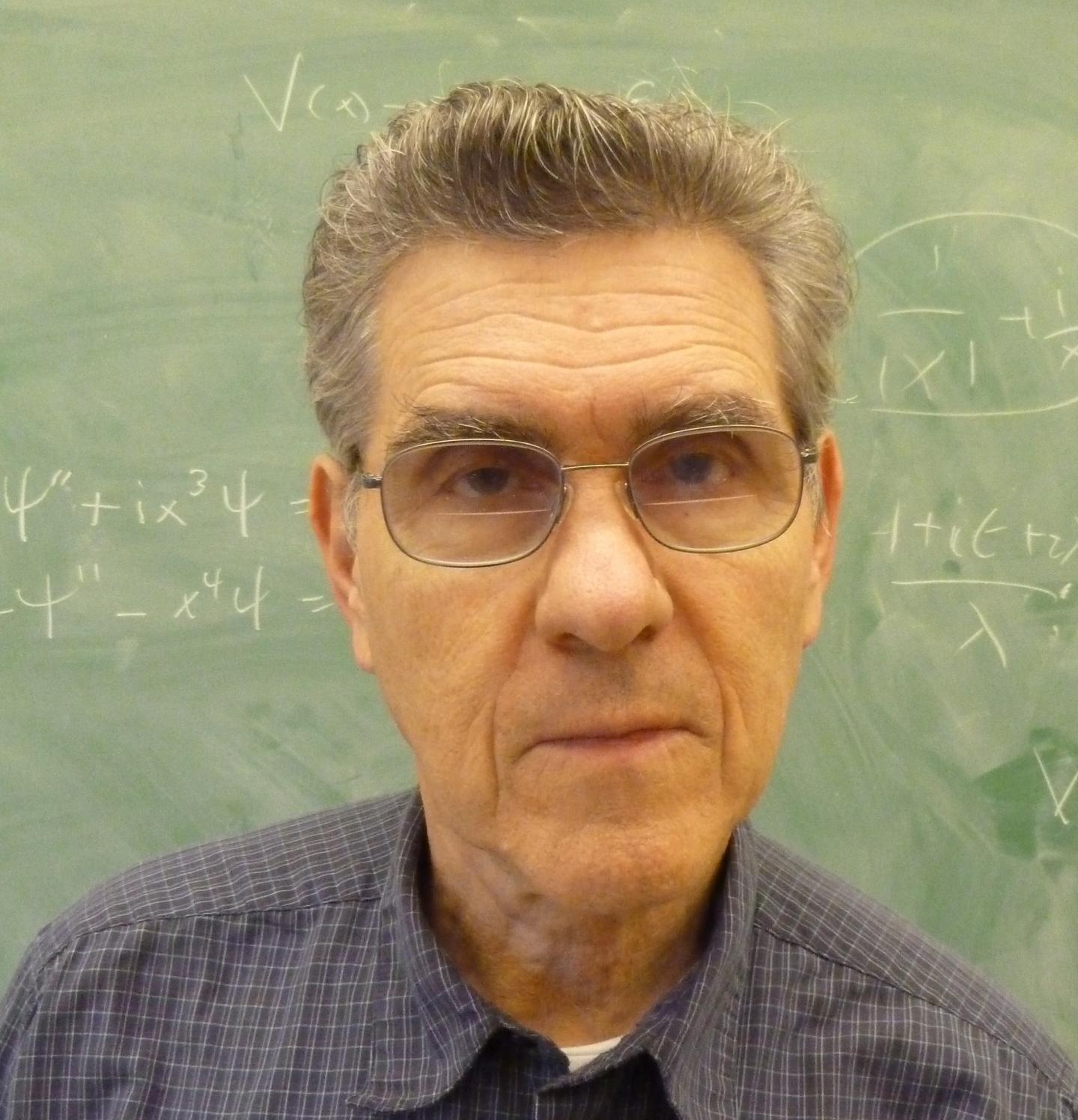 Quantum physicist Carl M. Bender wins 2017 Dannie Heineman Prize for Mathematical Physics