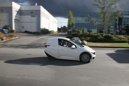 three wheeled electric vehicle set to go on sale this year. Black Bedroom Furniture Sets. Home Design Ideas