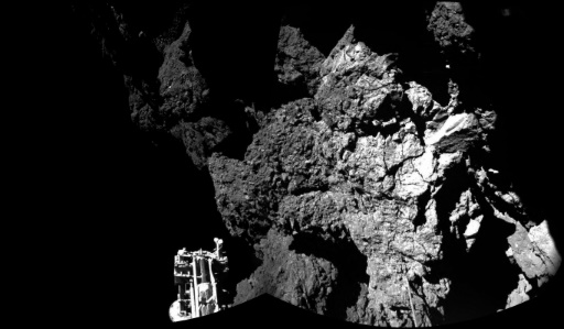 Lost in space: Philae probe found in 'dark crack'