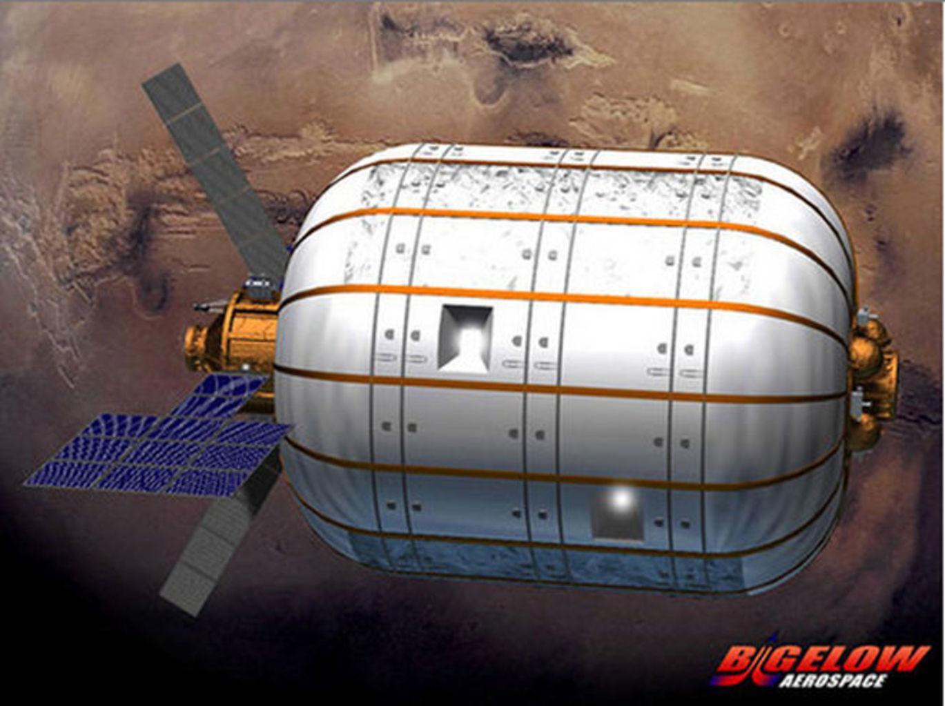 inflatable spacecraft habitat - photo #6