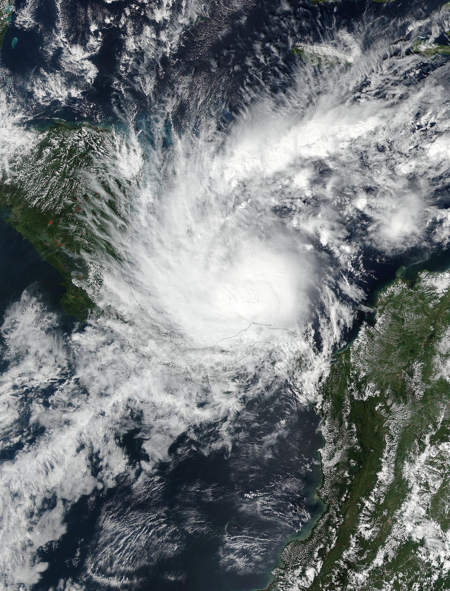 NASA sees Tropical Storm Otto heading toward landfall in Central ...