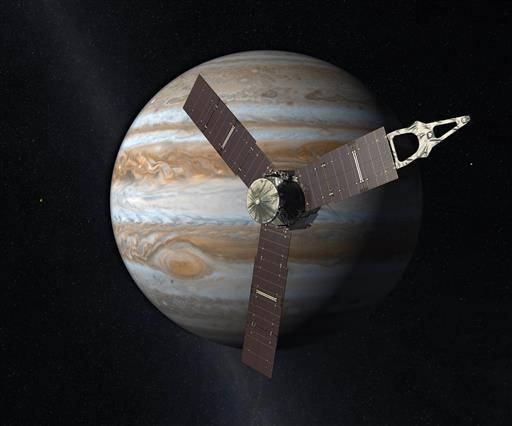 What is the goal of Juno's mission to Jupiter?
