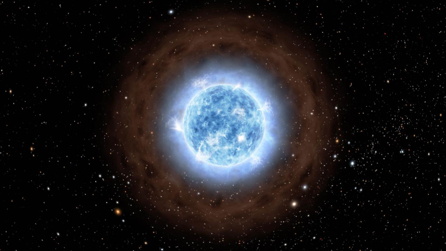 Faintest hisses from space reveal famous star 39 s past life for About space