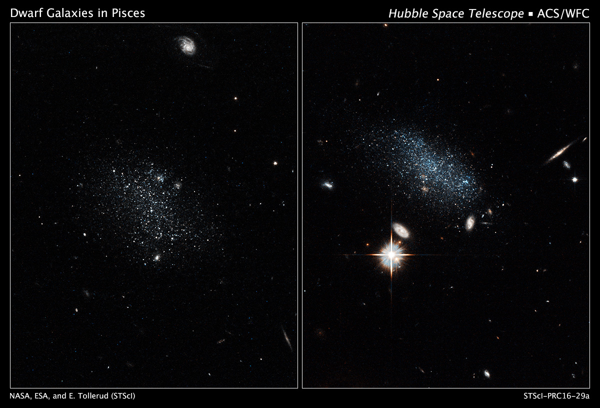 hubble galaxies pair - photo #5