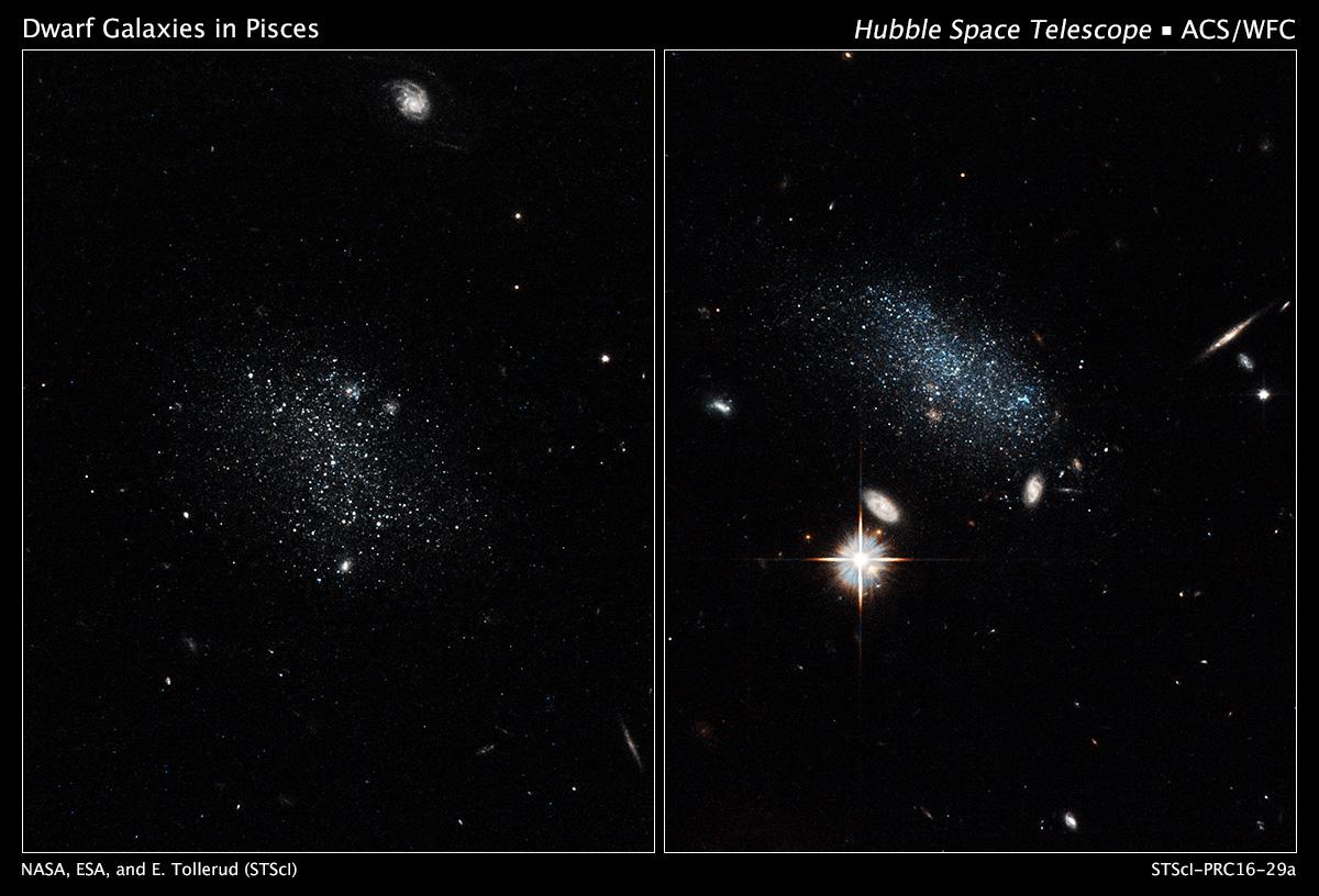 hubble galaxies pair - photo #5
