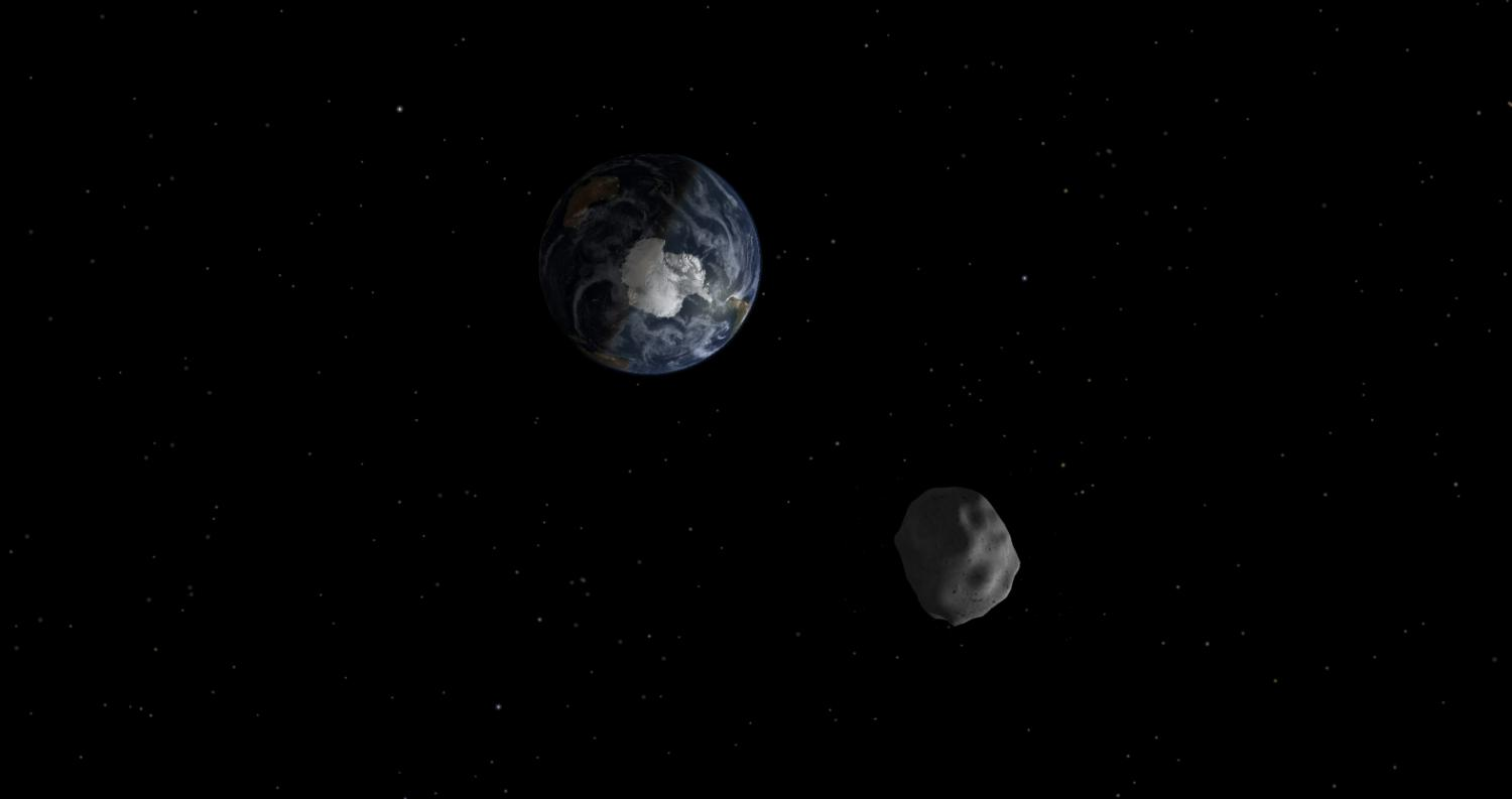 Smallest known asteroid characterized using Earth-based telescopes
