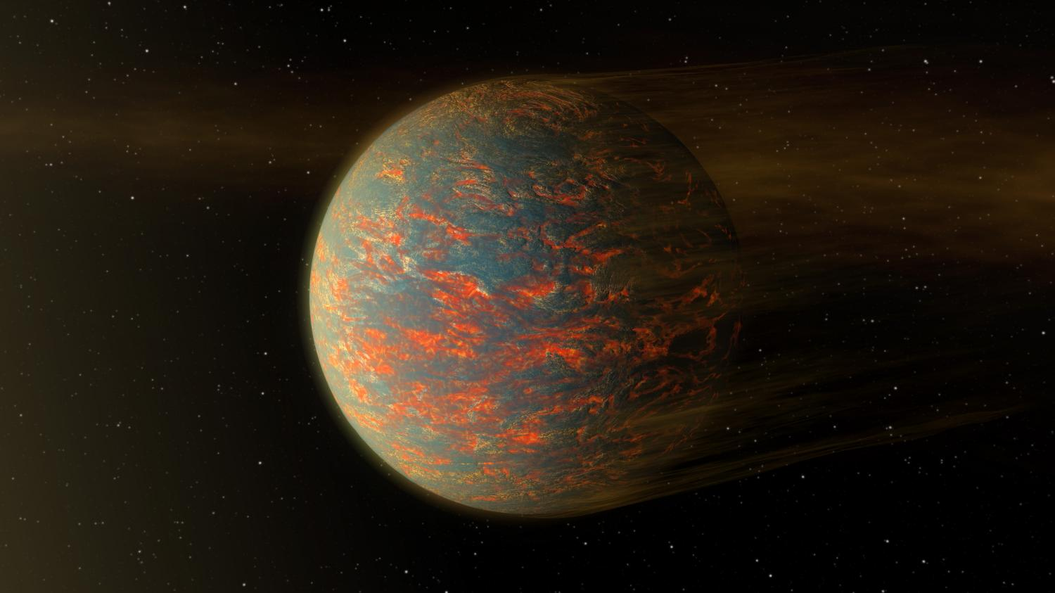 Cancri e is a world of two halves