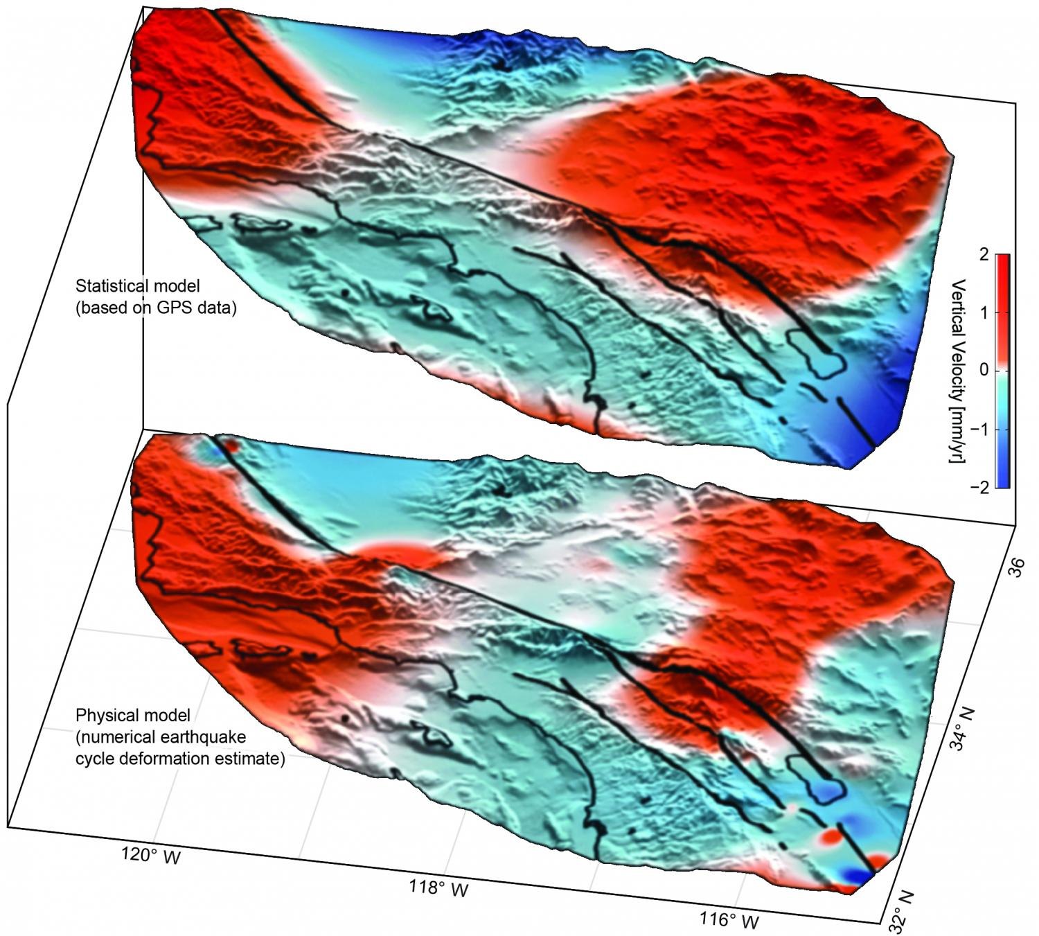 'Large-scale motion' detected near San Andreas Fault