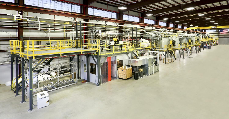 plastic goods manufacturing machine