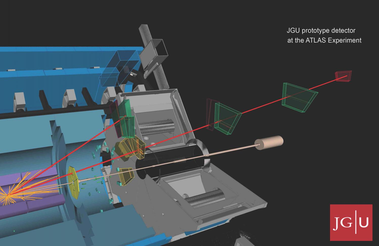 Physicists at Mainz University construct prototype for new component of the ATLAS detector