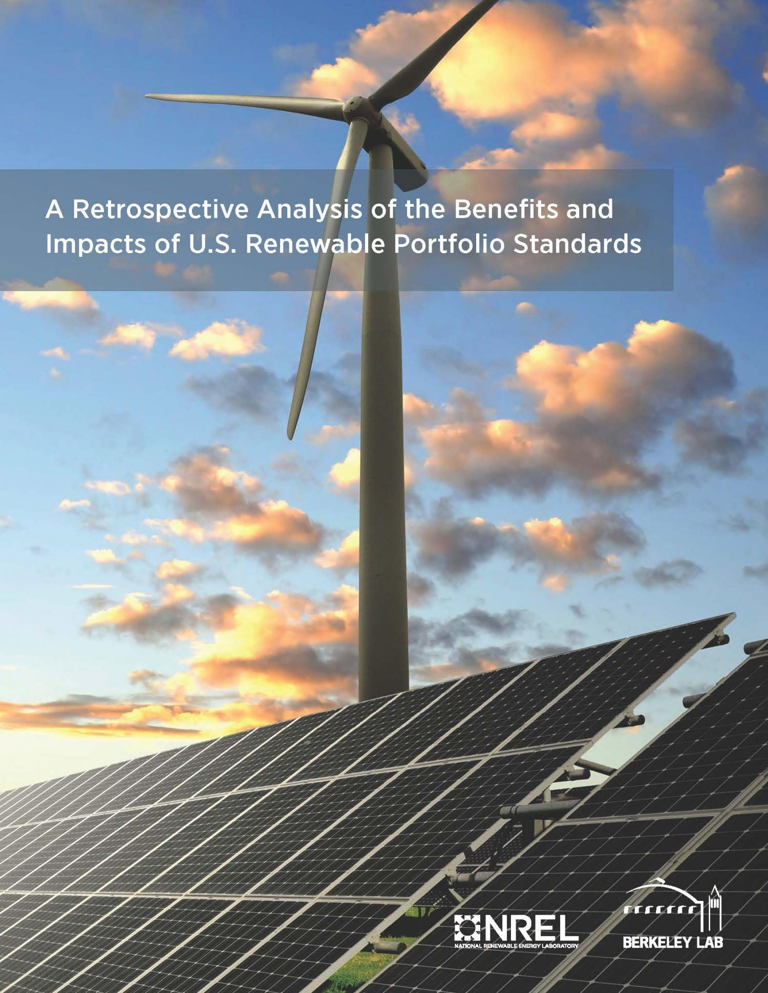 a research on renewable portfolio standards rps and the cost of solar energy New jersey's renewable portfolio standard (rps) was first adopted in 1999 and has been updated several times the total rps requirement in new jersey including solar carve out is 2439% by ey 2028 as it is set up today, the rps includes two separate provisions for renewable energy the first.