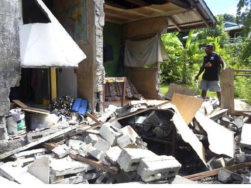 Big quake in Pacific prompts tsunami warnings in islands