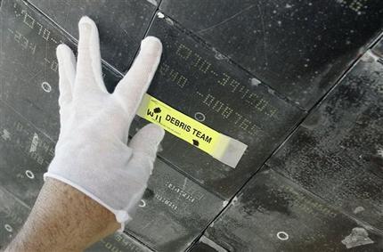 space shuttle atlantis tile damage - photo #4