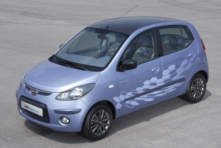 Hyundai Unveils South Korea 39 S First Electric Car