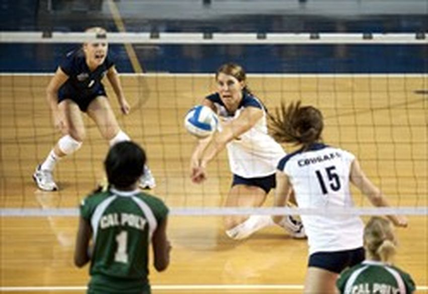 Volleyball skills study: Men should serve, women dig