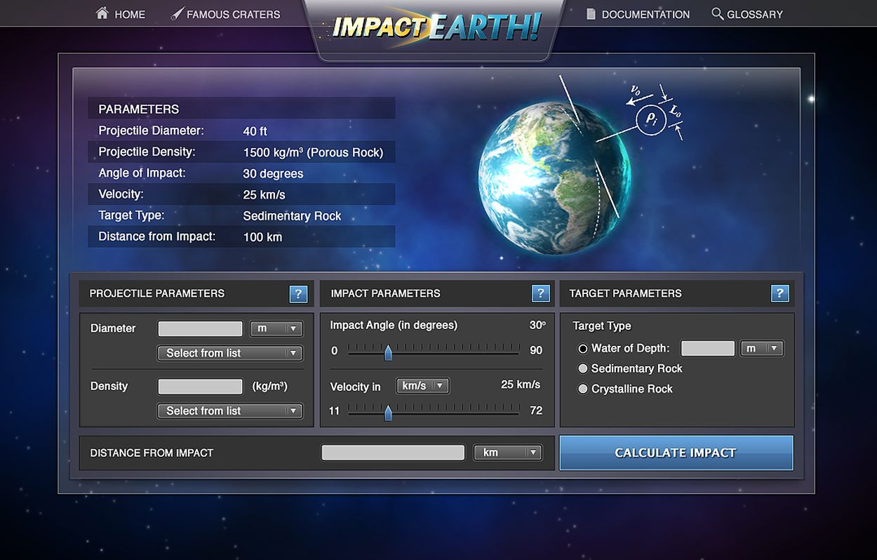 Purdue unveils 'Impact: Earth!' asteroid impact effects ...