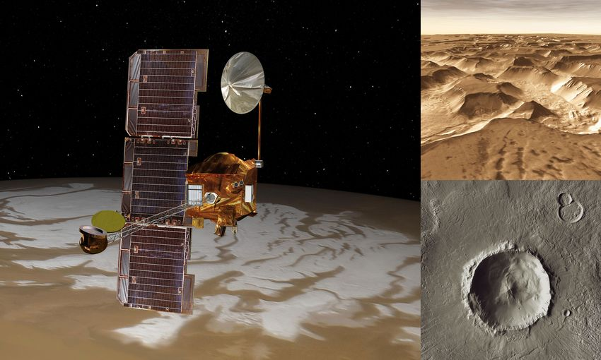 NASA's Odyssey spacecraft sets exploration record on Mars