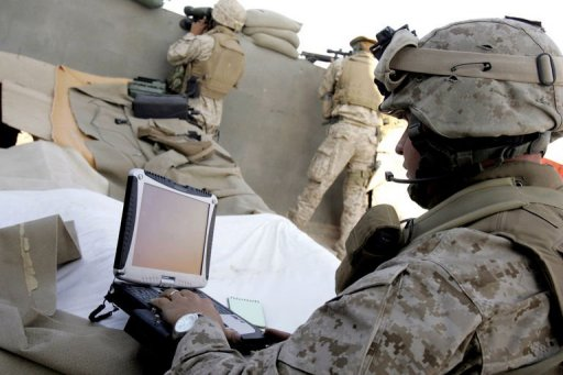internet access soldiers afghanistan iraq