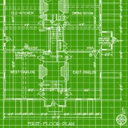 How to turn blueprints green
