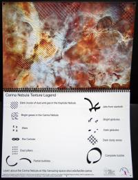 Exploring the Carina Nebula By Touch