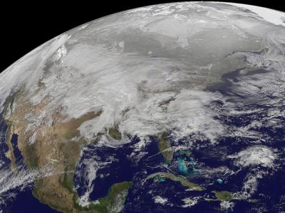 Huge storm heads across the US
