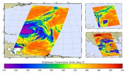 Hurricane Igor, unchained, in NASA satellite images