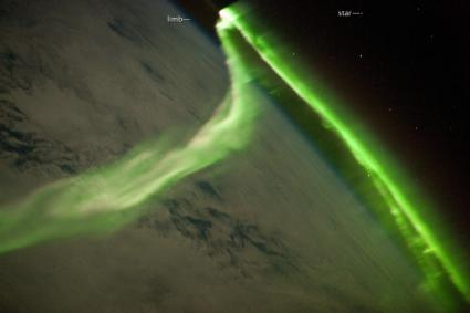 Image: Aurora Australis Observed from the International Space Station