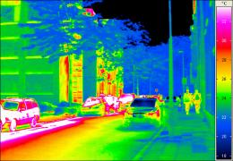 Infrared camera provides a better view