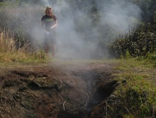 Into a Volcano to Test Suitcase-Sized Science Lab