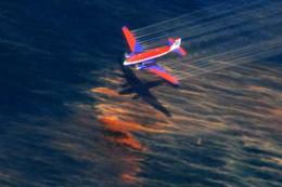 Is oil spill also fouling the air?