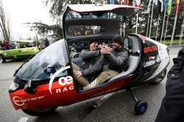 It took three electric vehicles six months to complete their round the world tour