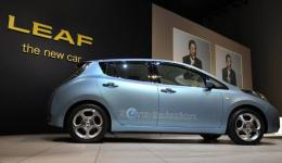 Japan's Nissan Motor Electric Vehicle