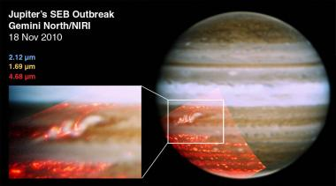 Jupiter gets its stripe back