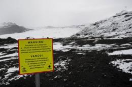 Katla volcano is said to be 10 time more powerfull than neighbouring Eyjafjoell