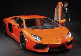 Lamborghini unveils new Aventador supercar