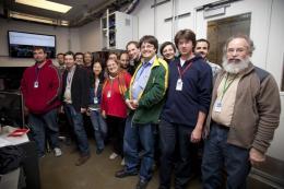 Launch of fourth LCLS instrument reveals crisp, fine molecular detail