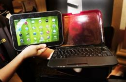 Lenovo this month unveiled the IdeaPad U1, which converts from a laptop to a touch-screen tablet