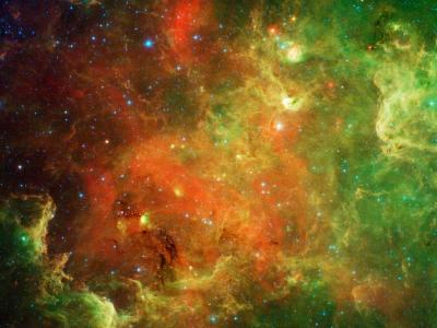 Life in the North American nebula provides new view