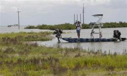 Little spent on oil spill cleanup technology (AP)
