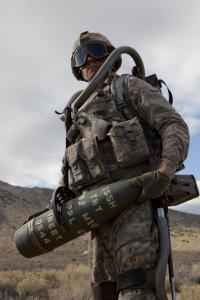 Lockheed Martin tests the advanced HULC robotic exoskeleton